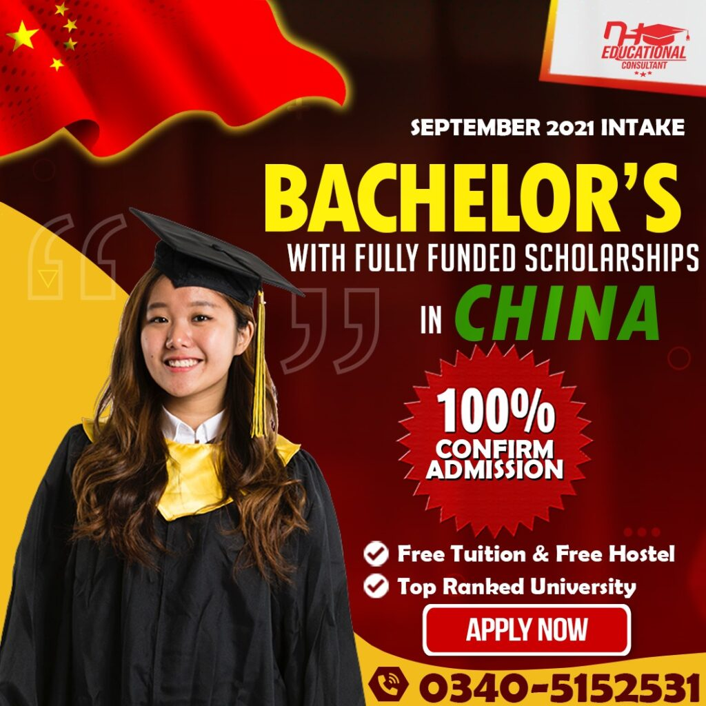 Bachelor in China on Scholarship
